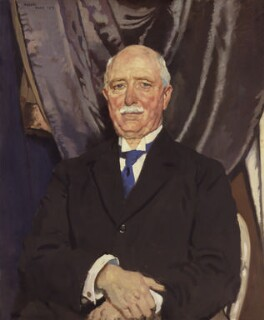 William Ferguson Massey, by Sir William Orpen, 1919 - NPG 2639 - © National Portrait Gallery, London