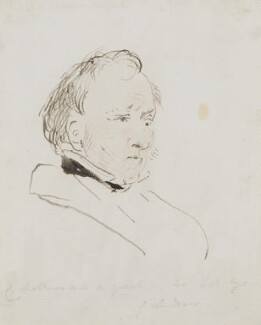 Charles Mathews, by Edwin Landseer - NPG 3097(4)