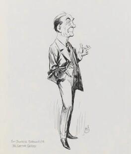 Sir Charles Willie Mathews, Bt, by Harry Furniss - NPG 3492