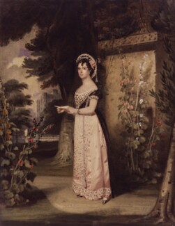 Madame Vestris, by Samuel Lover, circa 1826 - NPG  - © National Portrait Gallery, London