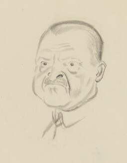 Somerset Maugham, by Sir David Low - NPG 4529(237)