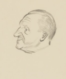 Somerset Maugham, by Sir David Low - NPG 4529(238)