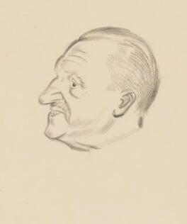 Somerset Maugham, by Sir David Low - NPG 4529(238)