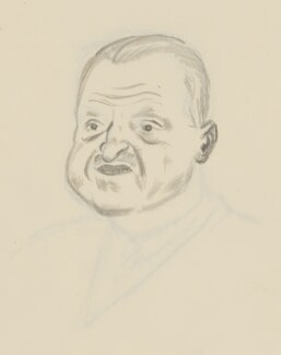 Somerset Maugham, by Sir David Low - NPG 4529(240)