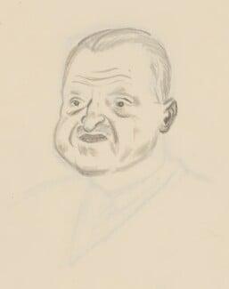 Somerset Maugham, by Sir David Low - NPG 4529(240)