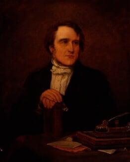 (John) Frederick Denison Maurice, by Jane Mary Hayward - NPG 354