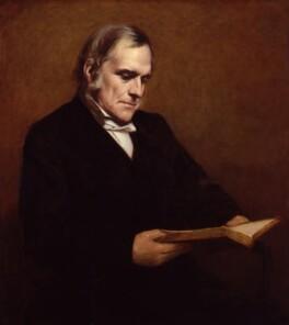(John) Frederick Denison Maurice, by Samuel Laurence - NPG 1042