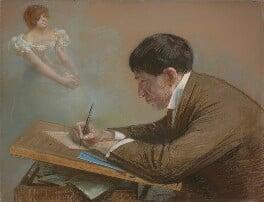 Phil May, by Sir Robert Ponsonby Staples, Bt, 1898 -NPG 1659 - © National Portrait Gallery, London