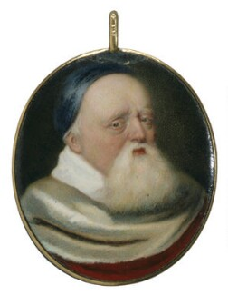 Sir Theodore Turquet de Mayerne, attributed to Jean Petitot - NPG 3066