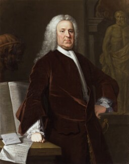 Richard Mead, by Allan Ramsay, and  studio of Allan Ramsay - NPG 15