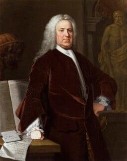 Richard Mead, by Allan Ramsay, and  studio of Allan Ramsay, 1740 - NPG 15 - © National Portrait Gallery, London