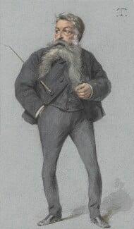 Jean Louis Ernest Meissonier, by Théobald Chartran ('T'), published in Vanity Fair 1 May 1880 - NPG 4707(18) - © National Portrait Gallery, London