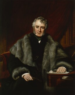 William Lamb, 2nd Viscount Melbourne, by John Partridge - NPG 941