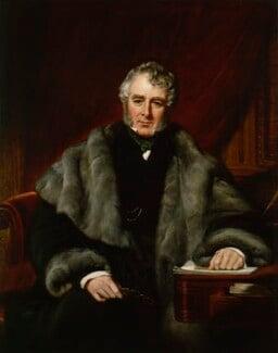 William Lamb, 2nd Viscount Melbourne, by John Partridge, 1844 - NPG 941 - © National Portrait Gallery, London