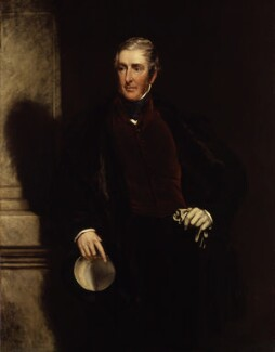 Frederick James Lamb, 3rd Viscount Melbourne, by John Partridge - NPG 3894