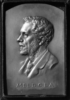 Raphael Meldola, by Frank Bowcher - NPG 1943