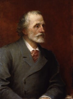 George Meredith, by George Frederic Watts - NPG 1543