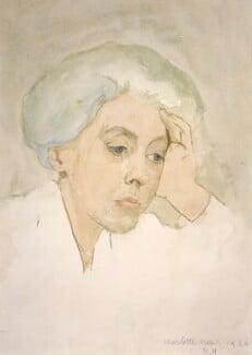 Charlotte Mary Mew, by Dorothy Hawksley - NPG 3550
