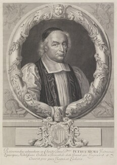 Peter Mews, by David Loggan - NPG 637