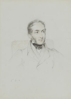 Sir Samuel Rush Meyrick, by William Brockedon - NPG 2515(62)