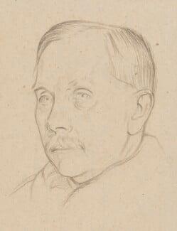Sir Henry Alexander Miers, by William Rothenstein - NPG 4787