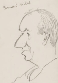 Bernard Miles, by Sir David Low - NPG 4529(248)