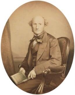 John Stuart Mill, by John & Charles Watkins, or by  John Watkins, 1865 - NPG P46 - © National Portrait Gallery, London