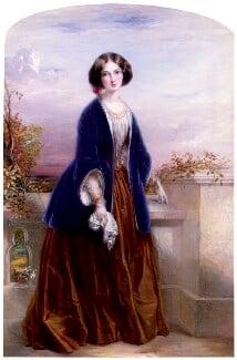 Effie Gray (Lady Millais), by Thomas Richmond, 1851 - NPG 5160 - © National Portrait Gallery, London