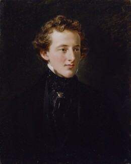 Sir John Everett Millais, 1st Bt, by Charles Robert Leslie - NPG 1859