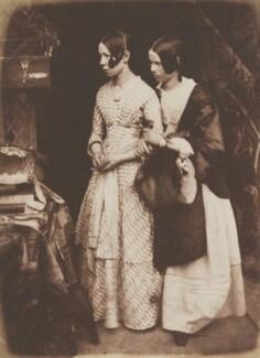 Ellen Milne; Agnes Milne, by David Octavius Hill, and  Robert Adamson - NPG P6(160)