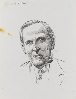A.A. Milne, by Harry Furniss - NPG 3493