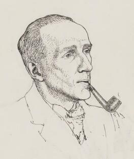 A.A. Milne, by Powys Evans - NPG 4399