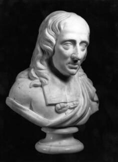 John Milton, by Unknown artist, after 1674 - NPG 3781 - © National Portrait Gallery, London