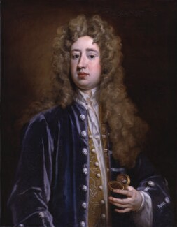 Charles Mohun, 4th Baron Mohun, by Sir Godfrey Kneller, Bt, 1707 - NPG 3218 - © National Portrait Gallery, London