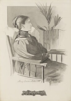 Mary Louisa Molesworth, by Walker Hodgson - NPG 4041(3)