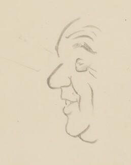 Walter Monckton, 1st Viscount Monckton, by Sir David Low - NPG 4529(251)