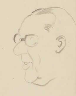 Walter Monckton, 1st Viscount Monckton, by Sir David Low - NPG 4529(252)
