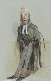Robert Porrett Collier, 1st Baron Monkswell, by Alfred Thompson (Atn) - NPG 2734