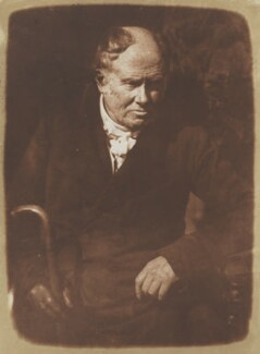 Alexander Monro, tertius, by David Octavius Hill, and  Robert Adamson - NPG P6(16)