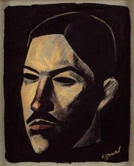 Harold Edward Monro, by Jacob Kramer - NPG 4705