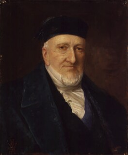 Sir Moses Haim Montefiore, 1st Bt, by Henry Weigall - NPG 2178