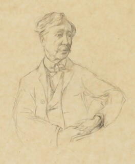 George Moore, by Henry Tonks - NPG 4154