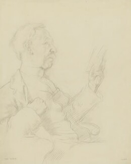 George Moore, by Sir William Orpen - NPG 2565