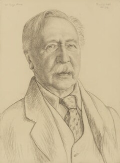 George Moore, by Francis Dodd - NPG 2673