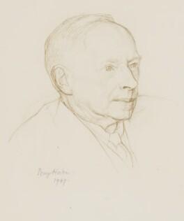 G.E. Moore, by Percy Horton - NPG 4087