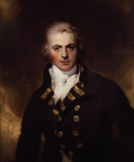 Sir Graham Moore, by Sir Thomas Lawrence, exhibited 1792 - NPG 1129 - © National Portrait Gallery, London