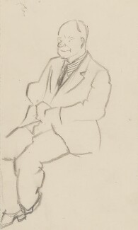 Henry Moore, by Sir David Low - NPG 4529(254)