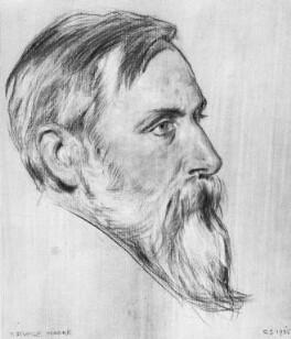 Thomas Sturge Moore, by Charles Haslewood Shannon - NPG 4130