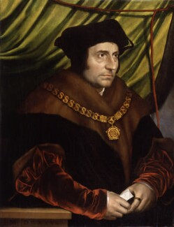 Sir Thomas More, after Hans Holbein the Younger, early 17th century, based on a work of 1527 - NPG  - © National Portrait Gallery, London