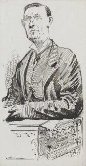 John Morley, 1st Viscount Morley of Blackburn, by Harry Furniss - NPG 3593